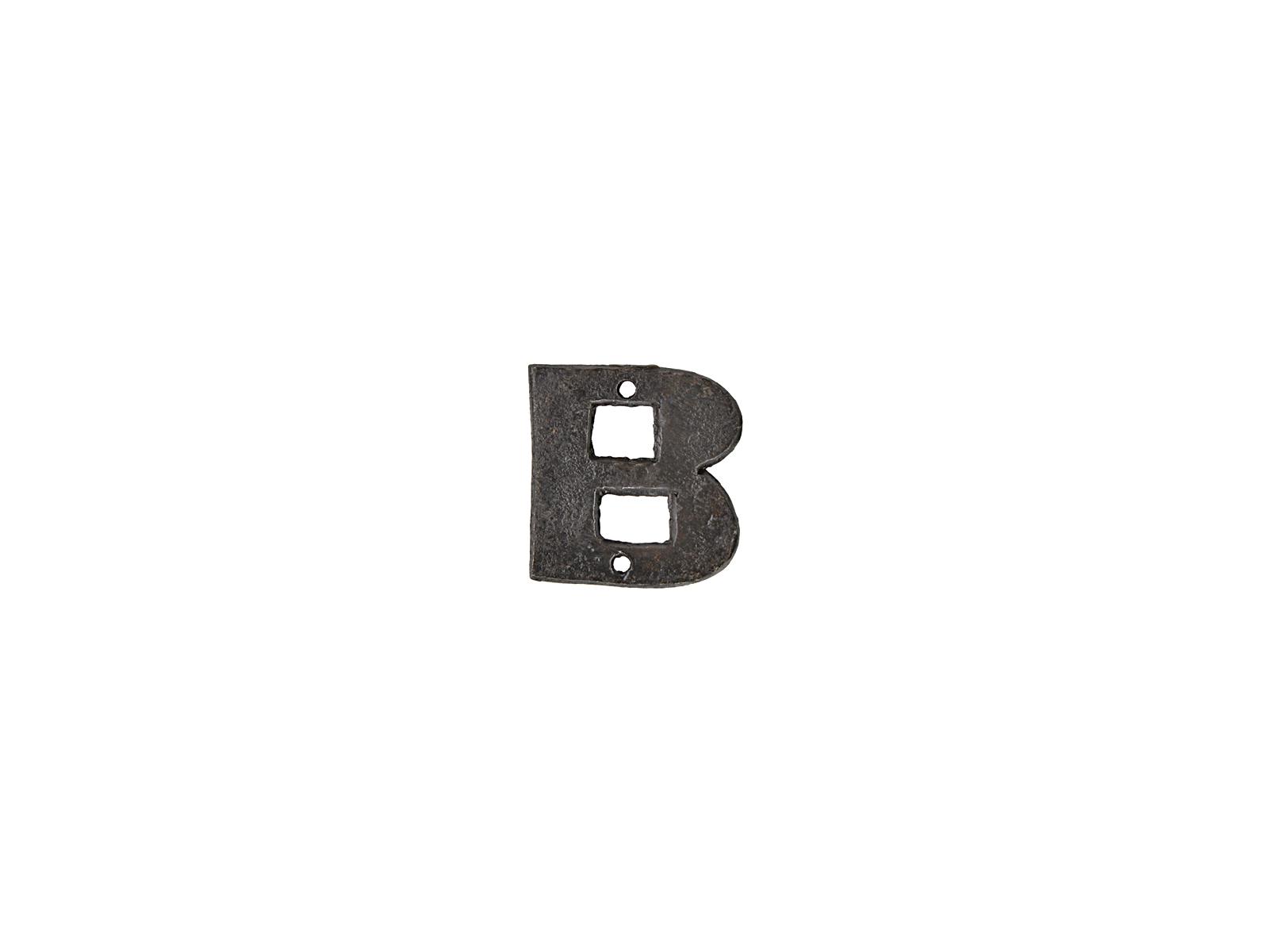 アルファベットプレートB