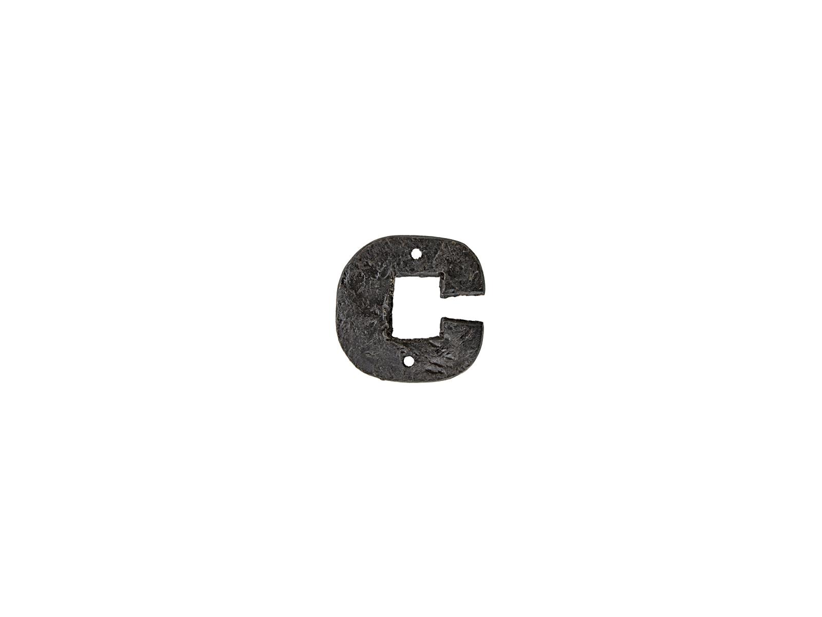 アルファベットプレートC