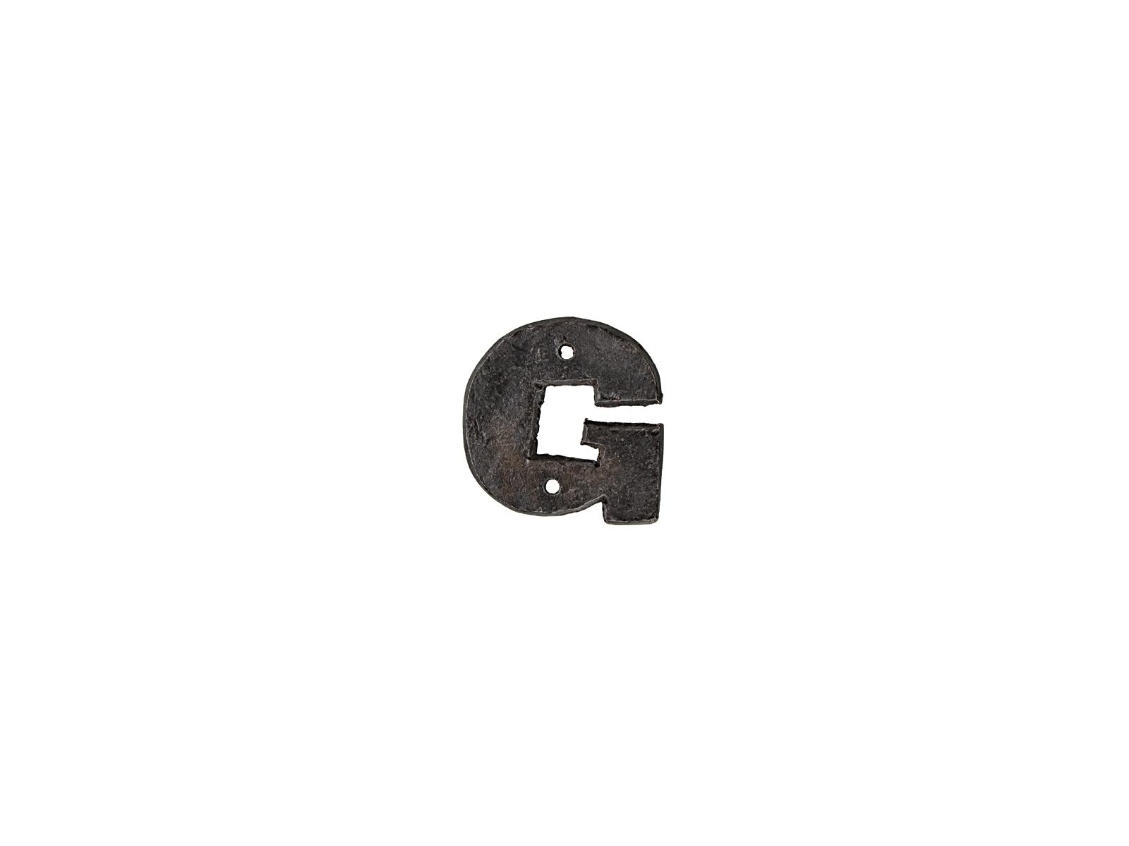 アルファベットプレートG