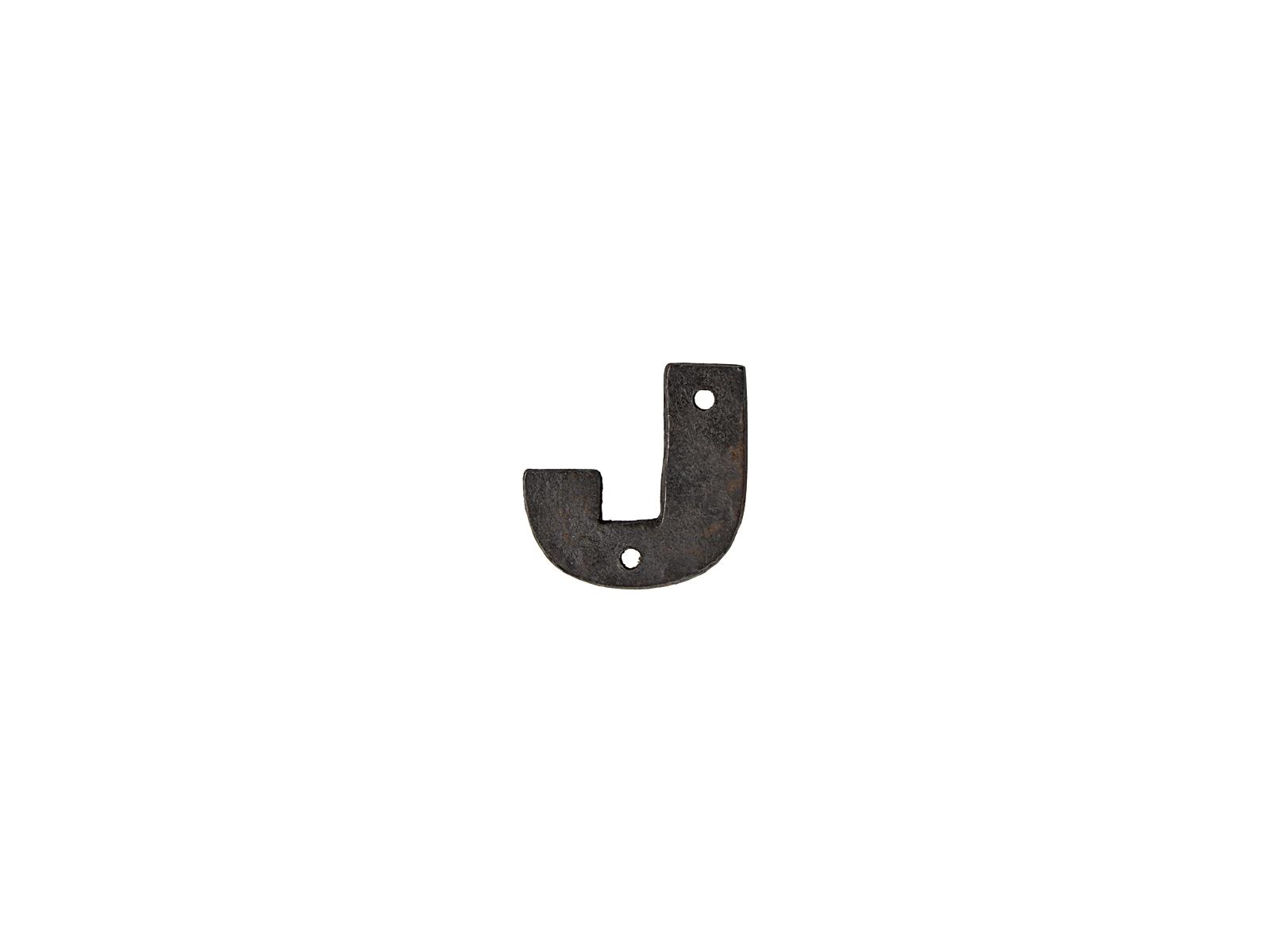 アルファベットプレートJ