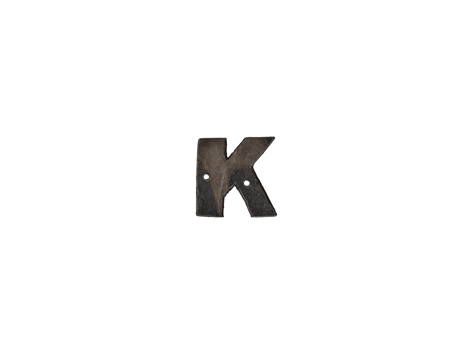 アルファベットプレートK