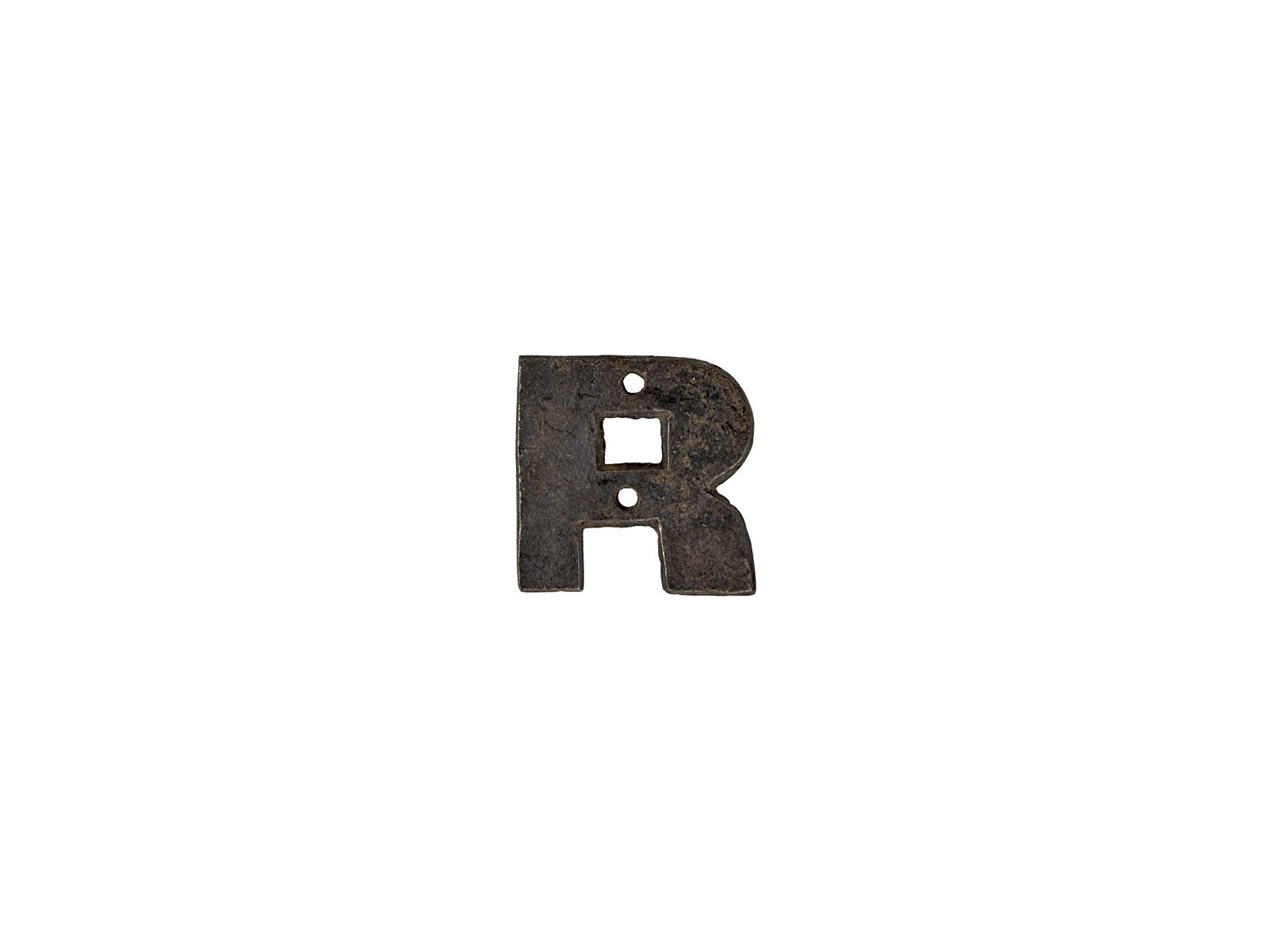 アルファベットプレートR