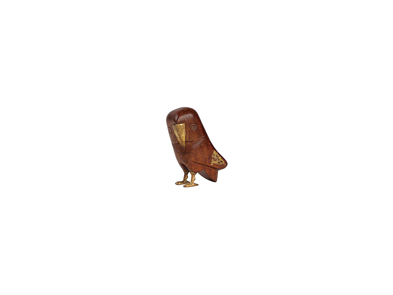 フクロウ(ブラウン小)