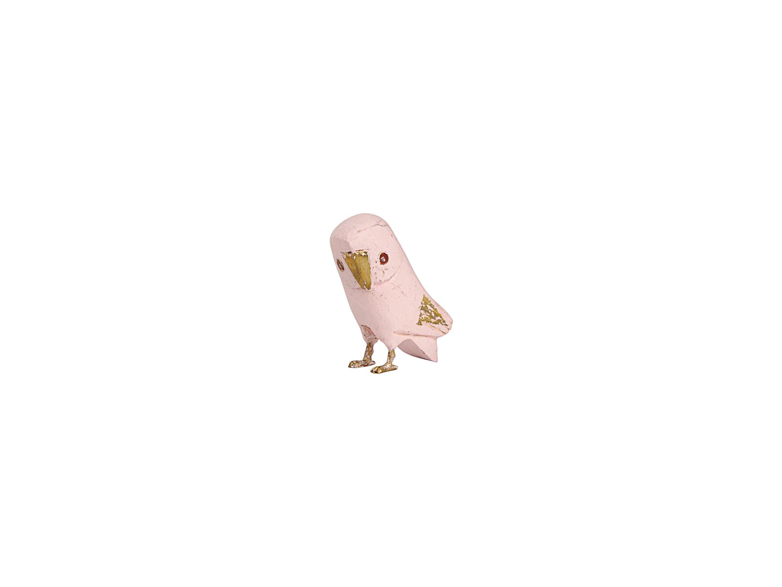フクロウ(ピンク小)