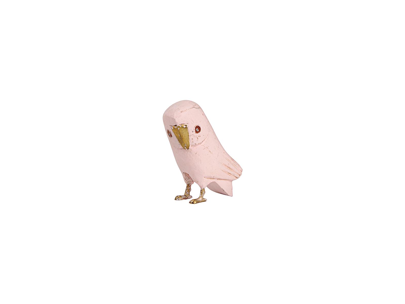 フクロウ(ピンク大)