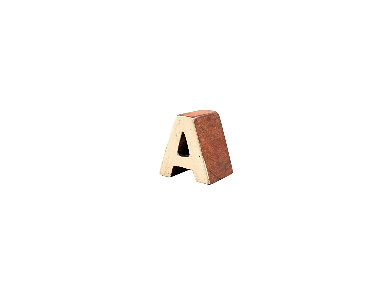 アルファベットブロックA