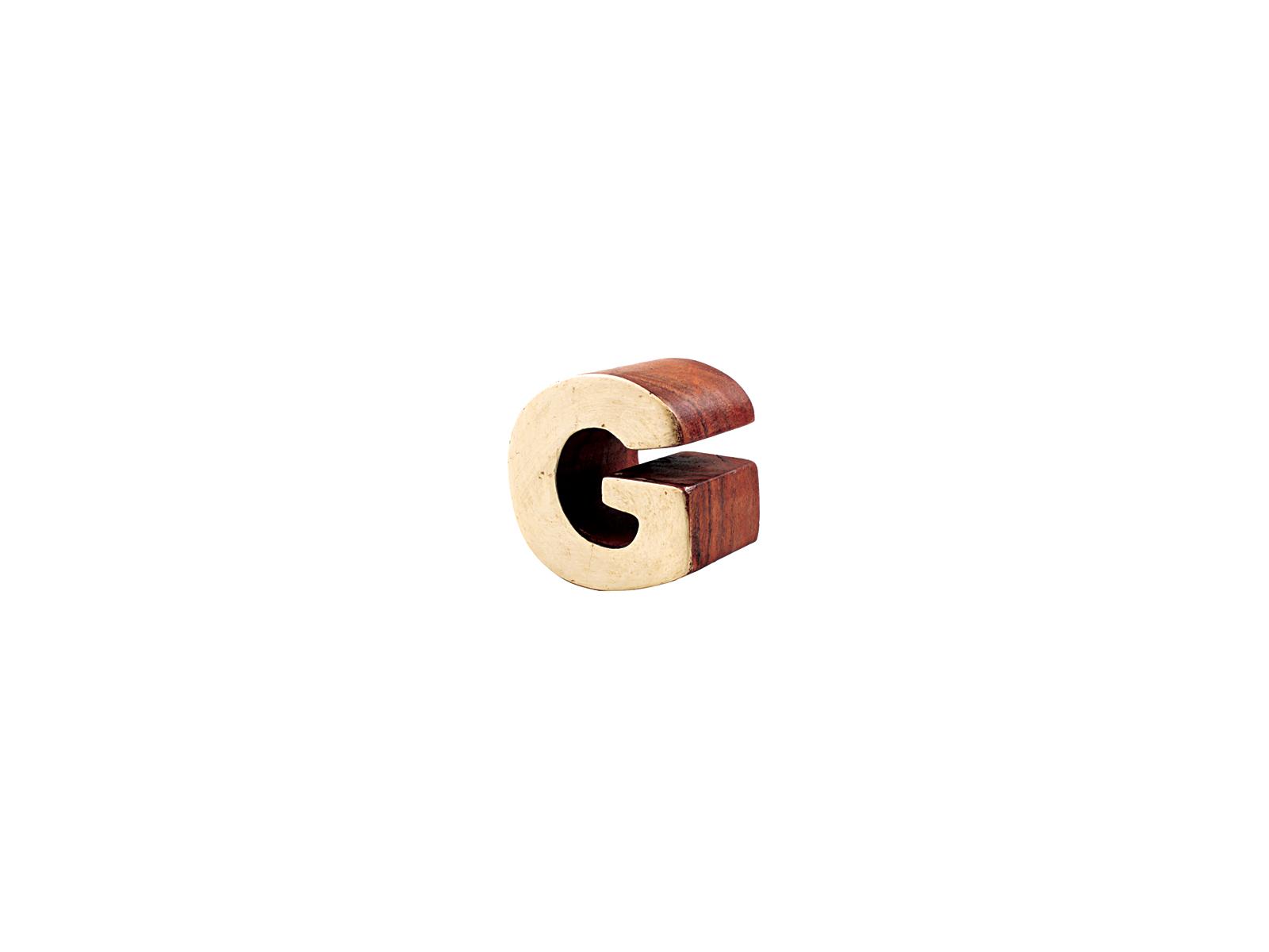 アルファベットブロックG