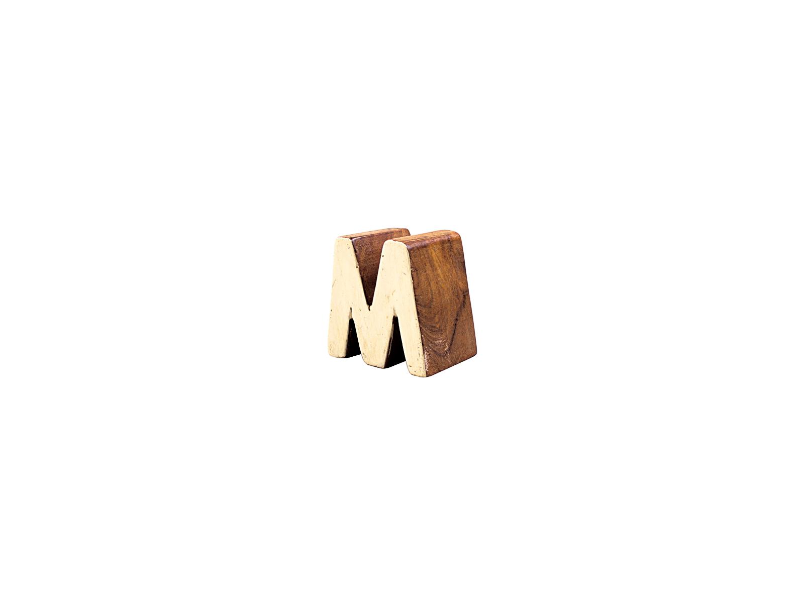 アルファベットブロックM