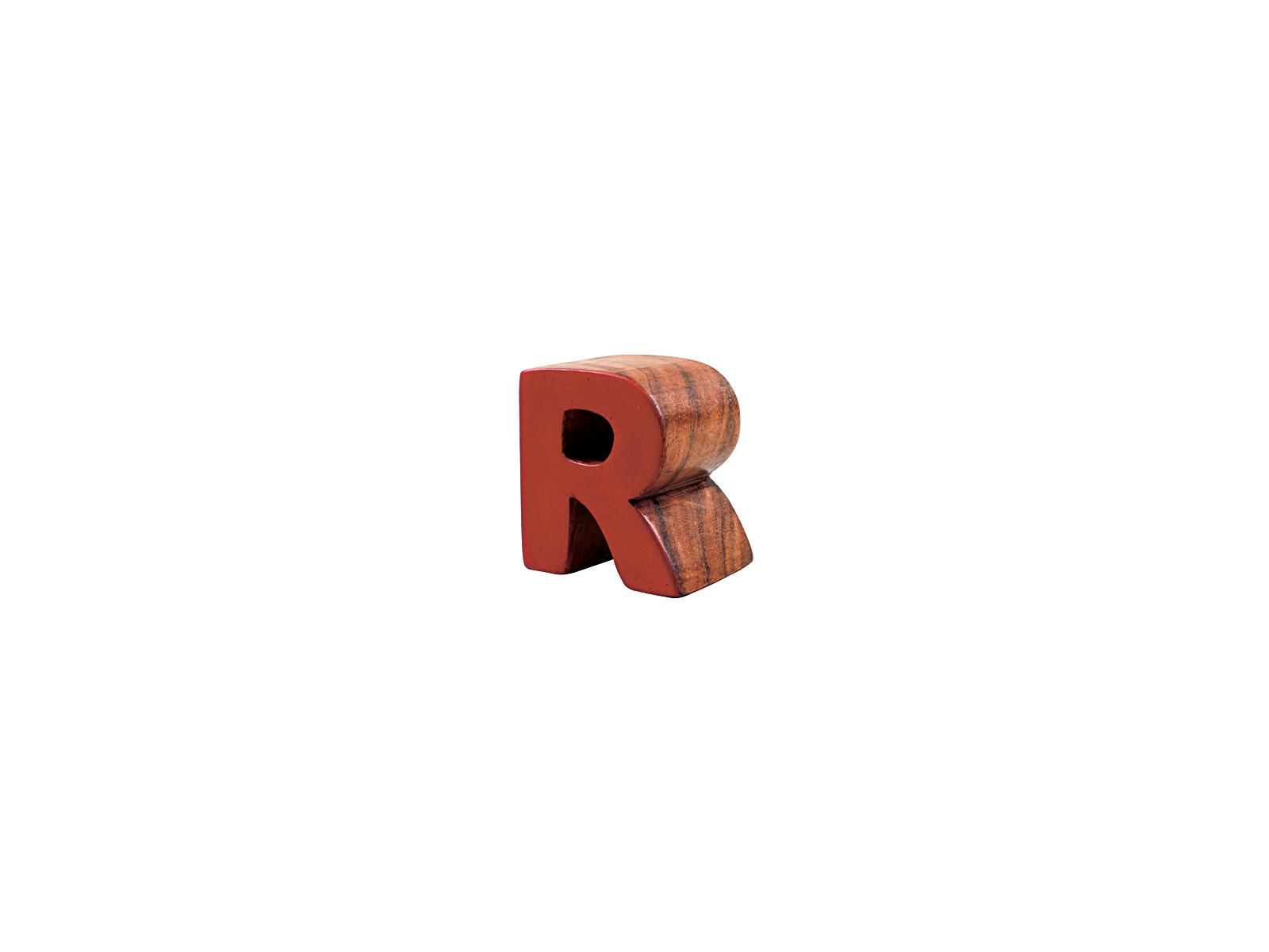 アルファベットブロックR