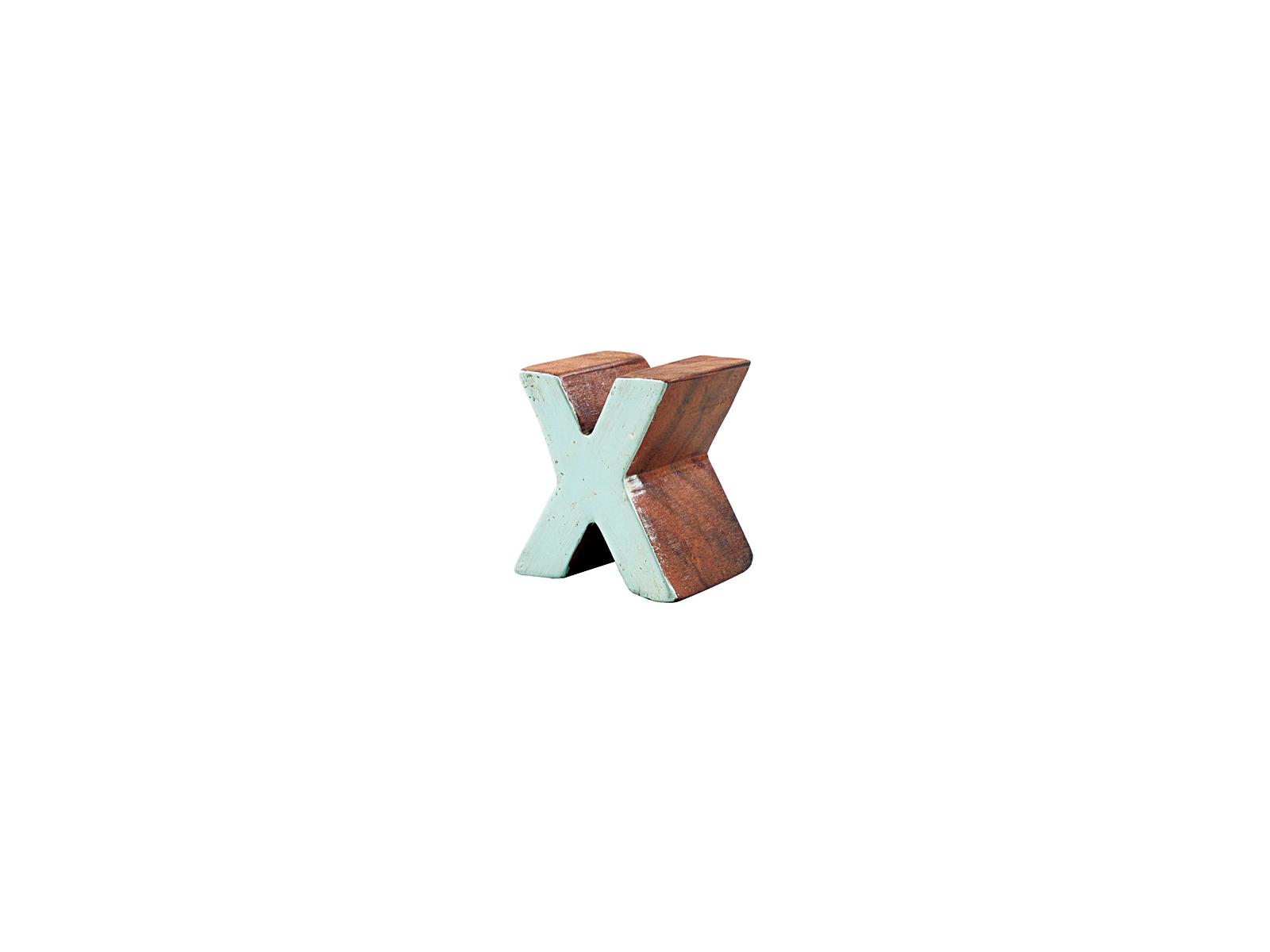 アルファベットブロックX