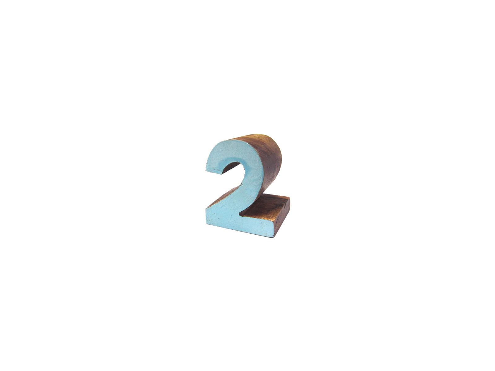 ウッドナンバーブロック2